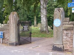 Churchyard Gates Ross-on-Wye